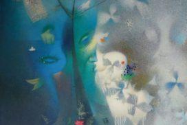FERN FLOWER  120x100  c.o.