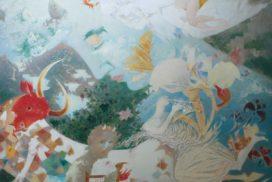 THE DREAMS OF THE EGEIS SEA  150x140  c.o.